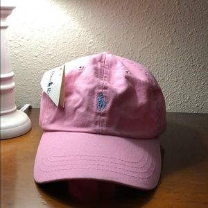 Polo pink hat. NWT